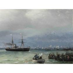 Aivazovsky Ivan | Айвазовский И. | Корабль помощи
