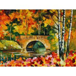 Afremov Leonid | Афремов Л. | Мосты Осенние